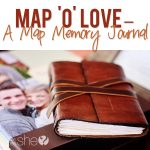 Map O' Love A Map Memory Journal