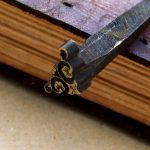 fleuron old tooling stamp