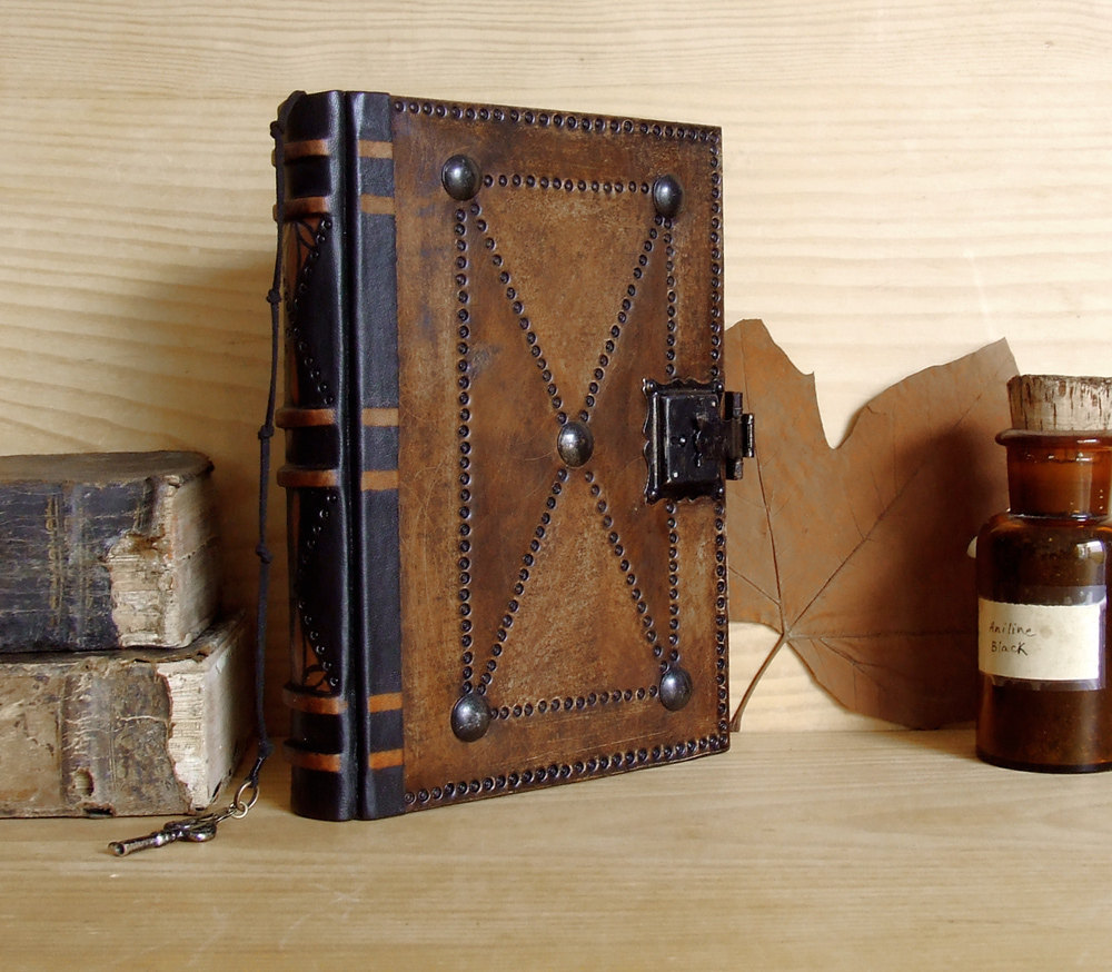 Old Leather Journal With Key Journal with Lock and ...