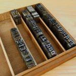 metal stamps letterpress