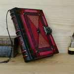 Leather-Journal-with-Lock-and-Key-Red-Leather-Blazing-Dreams