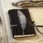 quill-leather-journal-feather-plume-handmade-leather-journal-notebook-diary-with-parchment-pages