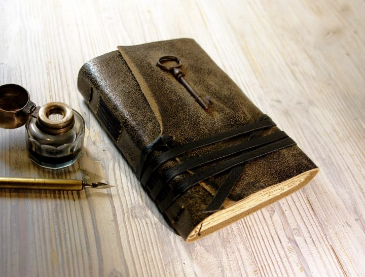 unspoken leather journal