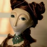 Polymer Clay Art Doll