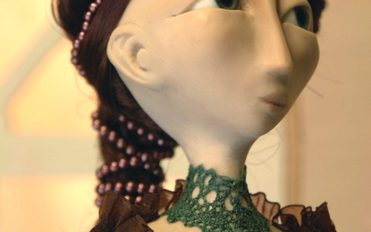 Polymer Clay Art Doll
