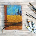 Art Leather Notebook