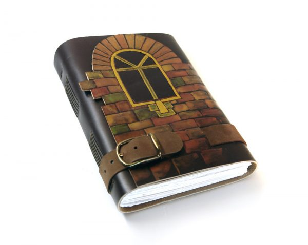 Brown Leather Cover Journal