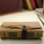 Parchment Paper Handmade Journal