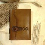 Parchment Paper Leather Journal
