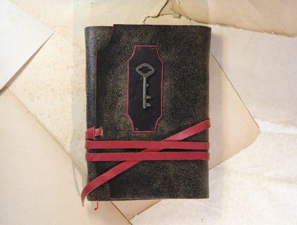 Journal with Skeleton Key