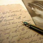 Vintage Style Letter
