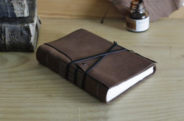 Leather Journal Brown