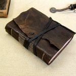 Dark Brown Leather Journal