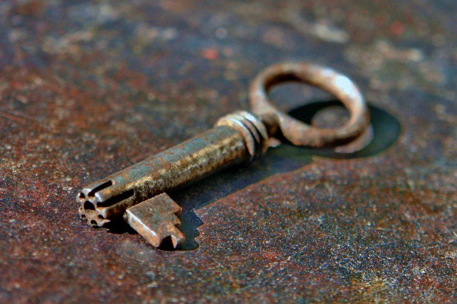 Bramah Keys and Unpickable Vintage Locks, Secret Challenge Lock