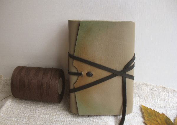 Antiqued Leather Journal