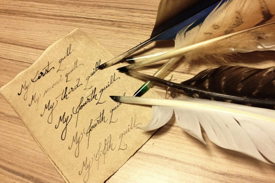 Making a Feather Quill Pen