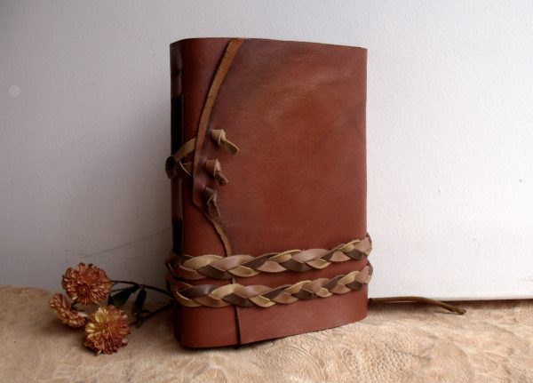 Lined Journal in Vintage Style