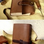 Leather medieval journal
