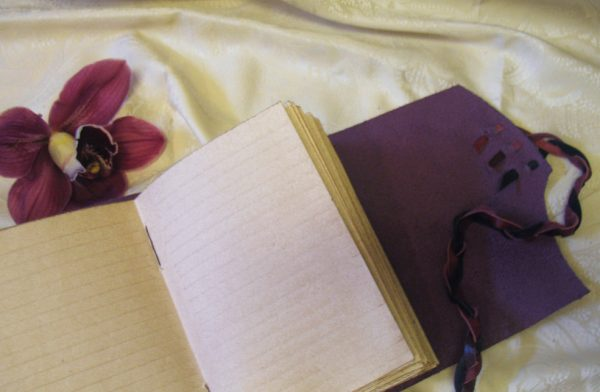 Lined Paper Leather Journal
