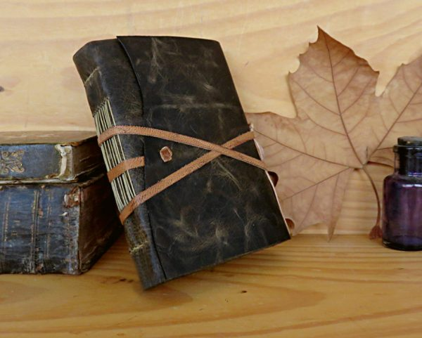 Personalized black journal