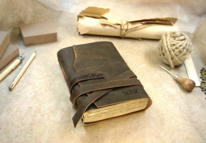 olde times leather journal