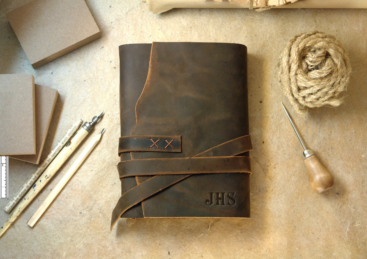 journal with monogram