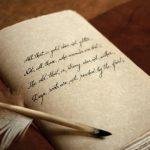 custom text leather journal